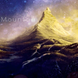 Cover of track Mountain by delve