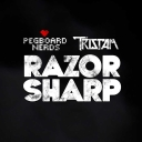 Cover of track Pegboard Nerds & Tristam - Razor Sharp by Remixatron
