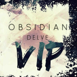 Cover of track Obsidian VIP (Ft. F5, Dubtiger, Astronix) by delve