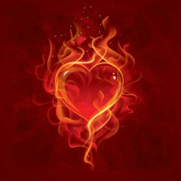 Cover of track Flaming Heart by cjthedj234