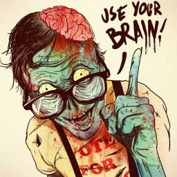 Cover of track use your brain by 28 production