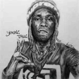 Cover of track young thug type beat by yungrichnino.ftyungmyrtle