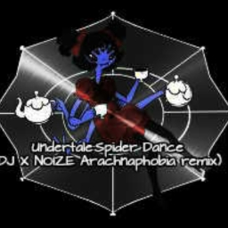 Cover of track Undertale: Spider Dance (DJ X NOIZE Arachnophobia Remix) by PhyX1X