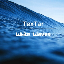 Cover of track White Waves by TexTar