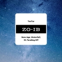 Cover of album ZO-IB by TexTar