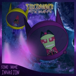 Cover of track Invasion by Toxic City