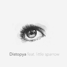 Cover of track Distopya feat. little sparrow by cihangir