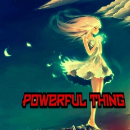 Cover of track powerful thing by DONATELLO