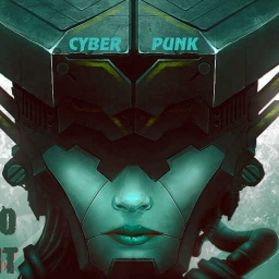 "Cover of track Intro ""Cyberpunk"" by PsycoQuant"