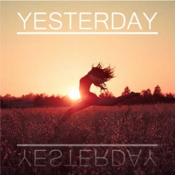 Cover of track (100) - Yesterday by Gyzer