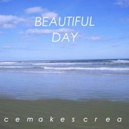 Cover of track A Beautiful Day by IceMakesCream