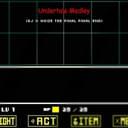 undertale album by DJvinyl360brony - Audiotool - Free Music Software