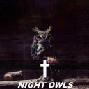 Cover of album Night Owls by ✝ / Δ
