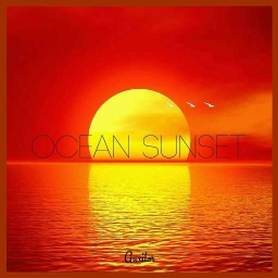 Cover of track Ocean Sunset [200] by vv Description vv