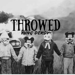 Cover of track Throwed by Yung Sega