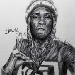 Cover of track Young Thug Type Beat-Whippin A Brick by glogang