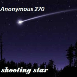 Cover of track Shooting star by Anonymous 270