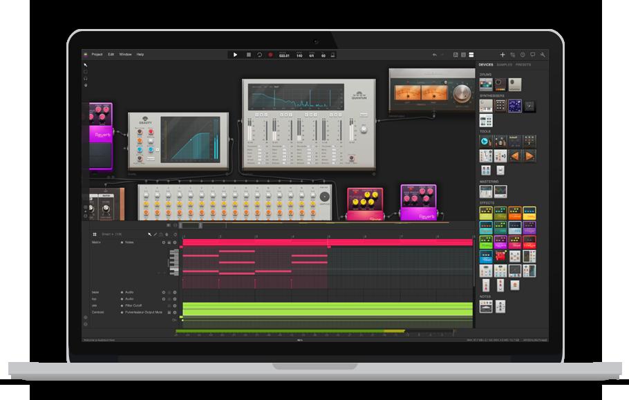 Audiotool UI